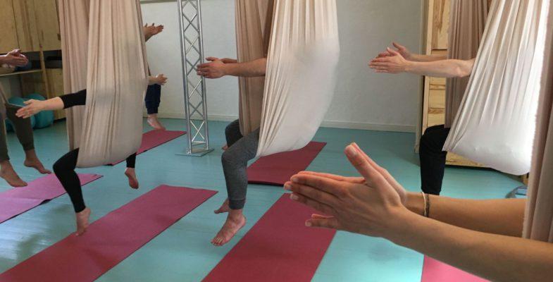 Workshop Aerial Yoga Basics – womanhood studio
